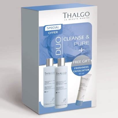 Thalgo Detox by Thalgo Cleanse Duo Kits 1pm 3pm Telegraph