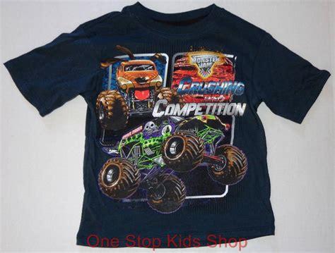 grave digger monster truck merchandise monster jam truck boys 4 5 6 7 tee shirt top grave digger