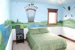 bedroom golf alfa img showing gt golf themed room