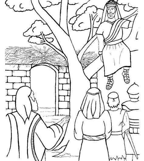 imagenes de jesus y zaqueo para colorear dibujos cat 243 licos jes 250 s y zaqueo para colorear
