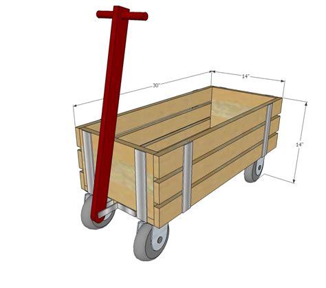 ana white beautiful wood wagon  children industrial