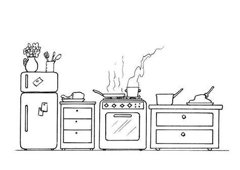 dessin animé de cuisine 79 dessins de coloriage cuisine 224 imprimer sur laguerche