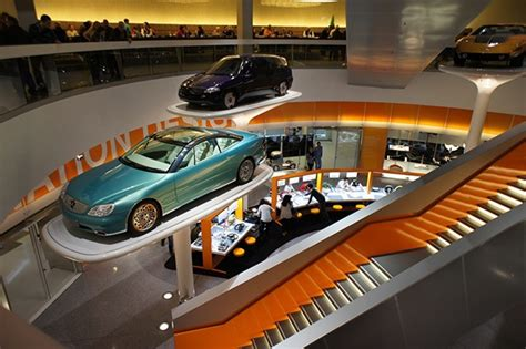 mercedes museum interior mercedes museum faszination design on behance