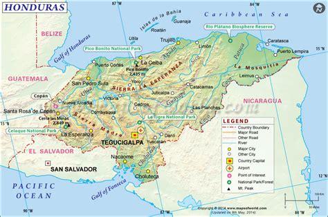 area code from us to honduras honduras map map of honduras