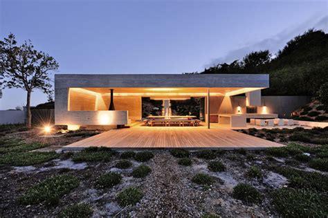moderner gartenpavillon gartenpavillon aus beton im puristischen stil konzipiert