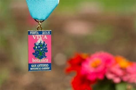San Antonio Botanical Garden 2015 Fiesta Medal Sa Flavor Garden Flower Shop San Antonio