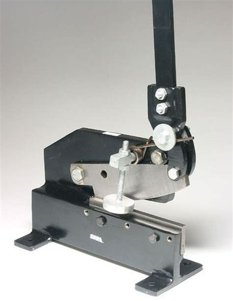 bench shears 8 quot metal cutting bench mounted hand shear from chronos ebay