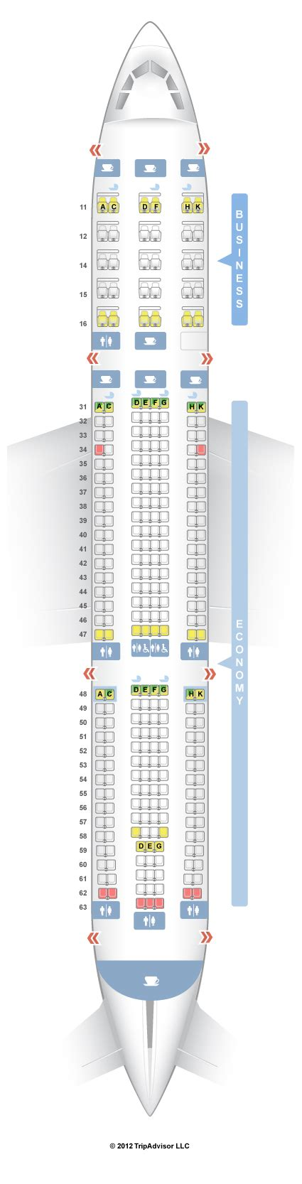 a330 seating seatguru seat map singapore airlines airbus a330 300 333