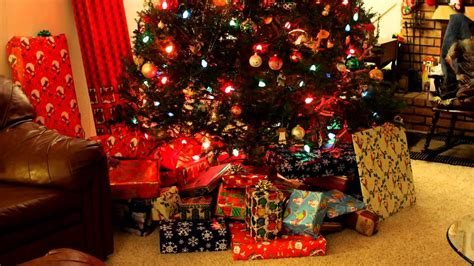 putting gifts   tree time lapse youtube
