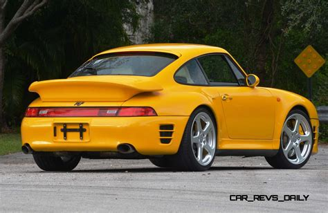 porsche ruf yellowbird 1997 ruf porsche 911 turbo r yellowbird