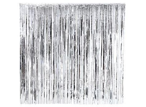 Foil Curtain Silver 3m gold fringe curtain nz savae org