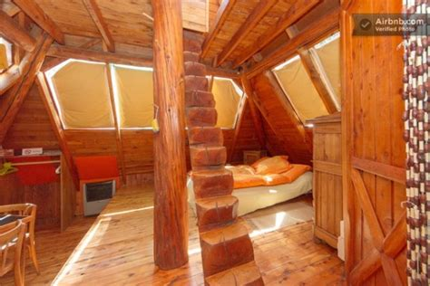 Micro Loft Floor Plans Tiny Pyramid Cabin In Argentina You Can Vacation In Tiny