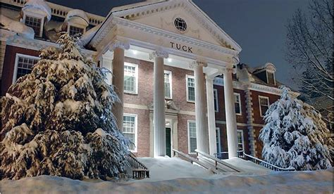 Tuck Mba by Dartmouth College Tuck School Of Business Time Mba