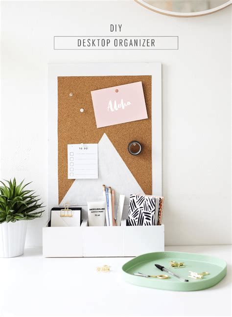 diy desk organizer ideas 35 cheap and easy gifts for the office diy