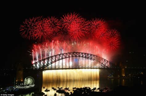 new year events sydney 2015 australia welcomes 2015 with a with sydney fireworks