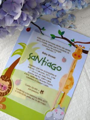 invitaciones baby shower costa rica invitaciones para baby shower jungla tarjetas para baby