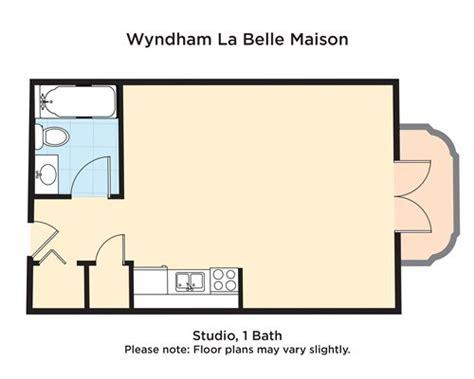 wyndham la belle maison floor plans wyndham la belle maison a706 details rci