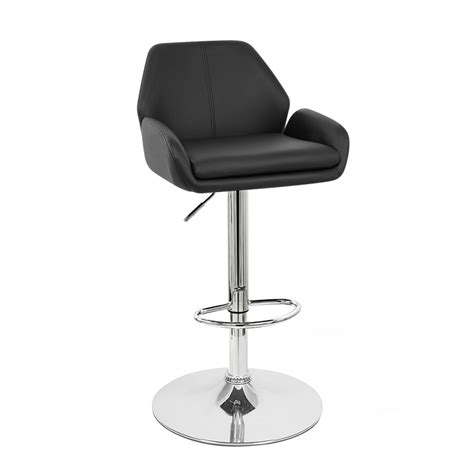 modern leather bar stools new modern leather bar stool adjustable adjusting