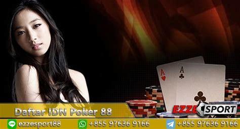 daftar idn poker  idn poker