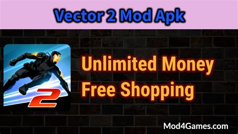 free download mod game vector vector 2 mod apk unlimited money free shopping