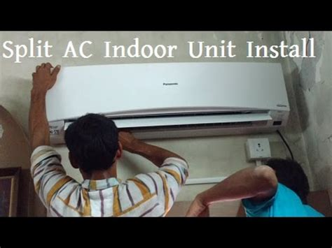 install split ac indoor unit panasonic air