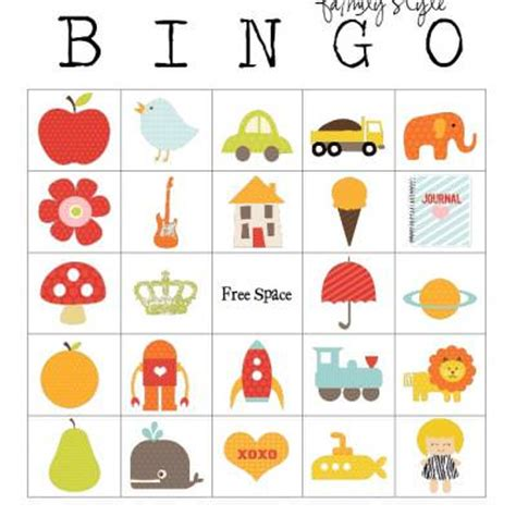 family style bingo cards free tip junkie