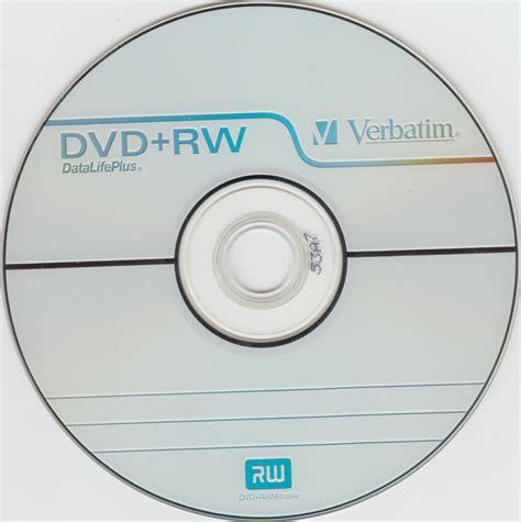 format blank cd rw verbatim 4x dvd rw disc topside