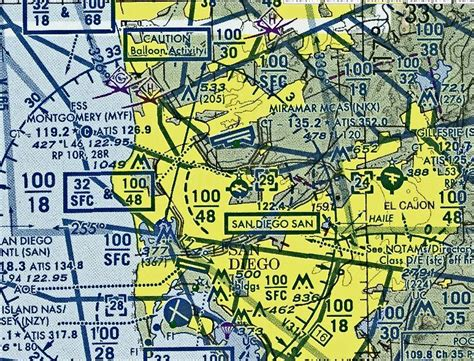 San Diego Sectional Chart by San Diego