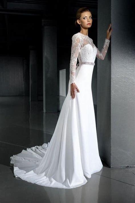 Brautkleid Spitze Langarm by Open Back Wedding Dress Lace Wedding Dress Sleeve