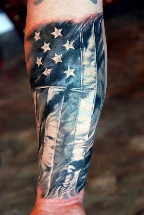 american quarter sleeve tattoo 25 awesome american flag tattoo designs beautiful flag