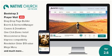 themeforest yin yang themeforest nativechurch v1 9 3 multi purpose wordpress theme