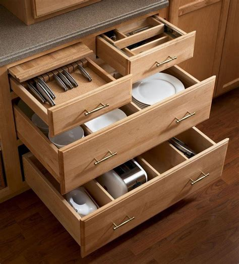 Drawer Solutions by Kraftmaid Kitchen Storage Solutions Home