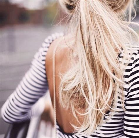 blonde ponytail cut off 25 best ideas about blonde ponytail on pinterest messy