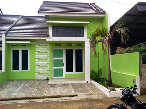 desain hijau cat rumah warna tren rumah  minimalis