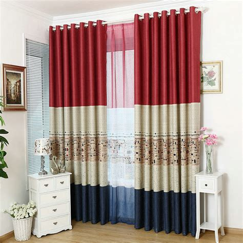 wholesale eco friendly blackout curtains stripe window