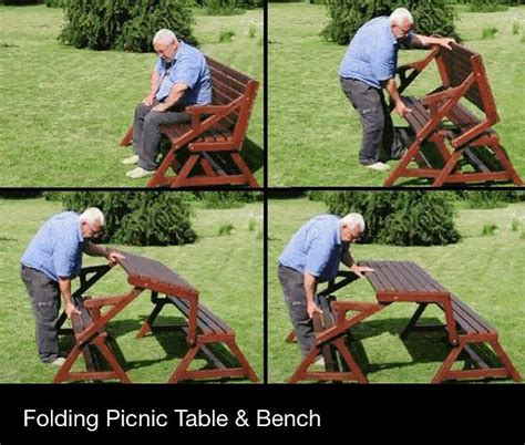 fold up picnic bench folding bench picnic table plans wooden pdf wood dowel