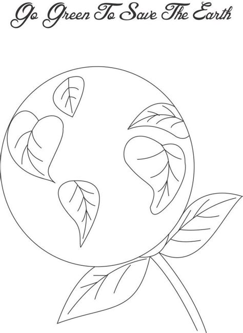 go green coloring pages az coloring pages