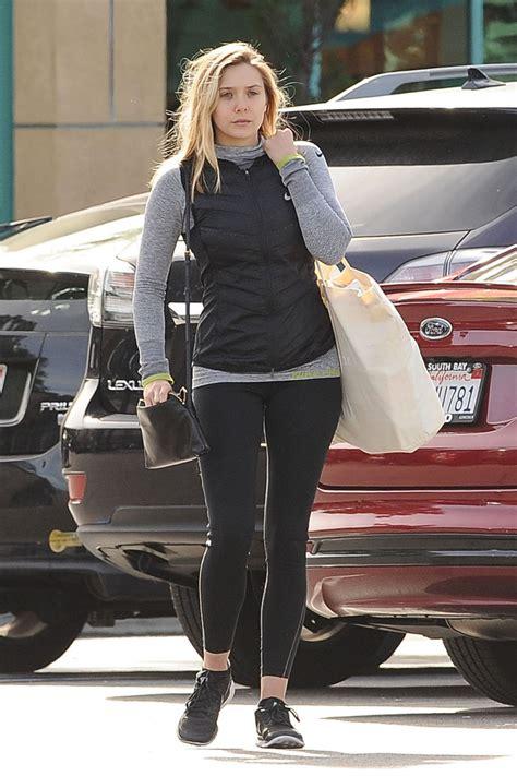 Elizabeth Bag Perry Suitcase Black elizabeth leaving gelson s market in los angeles 1