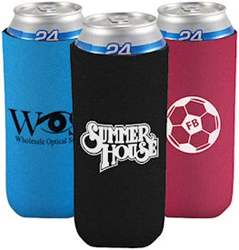 24 oz Tall Boy Coolies   Custom Koozies   Cheap Personalized Wedding Koozies