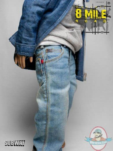 eminem figure 8 mile subway custom eminem 1 6 scale detroit 8 mile road