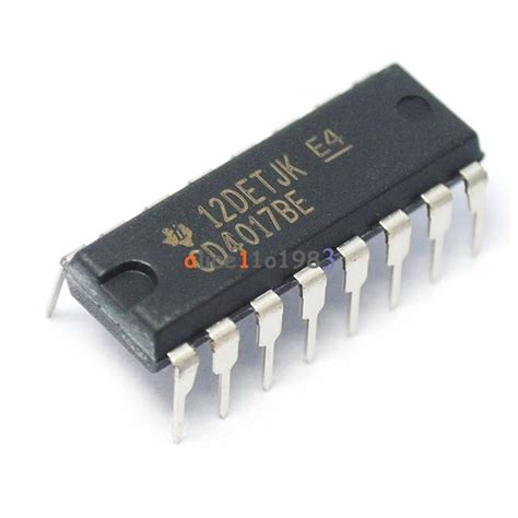 integrated circuit 4017 price 10pcs cd4017 cd4017be 4017 decade counter divider ic ebay