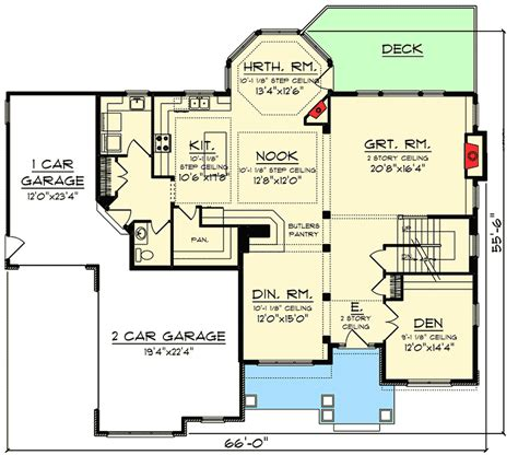 two story open concept floor plans 2 story open concept home 89997ah 2nd floor master suite butler walk in pantry cad