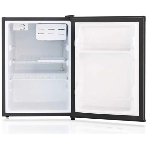 2 door compact sunpentown 2 4 cu ft compact refrigerator stainless