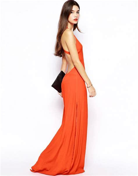 Open Back Maxi Dress maxi dress open back oscar fashion review fashion forever