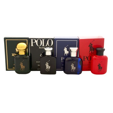 polo variety by ralph for 4 pc mini gift set
