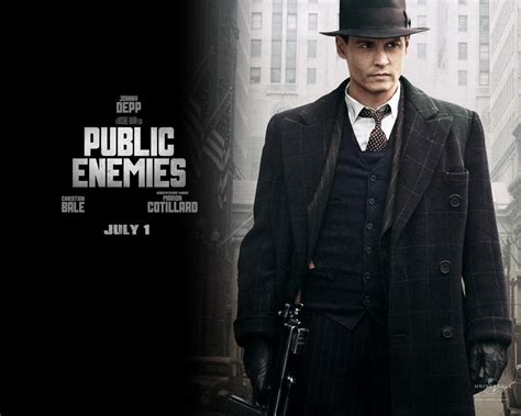 film gangster johnny depp quotes from john dillinger public enemies quotesgram