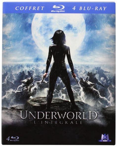 underworld le film soldes l int 233 grale underworld 4 films en blu ray 224 13 99