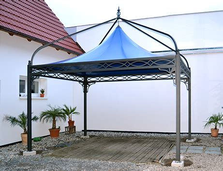 Wetterfester Pavillon 4x4 by Bo Wi Outdoor Living Referenzen 220 Berdachung