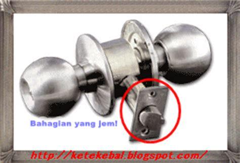 Ring Kunci Pintu Rumah Bulat ketekebal pintu bilik terkunci