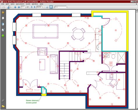 basement plans remodeling plans